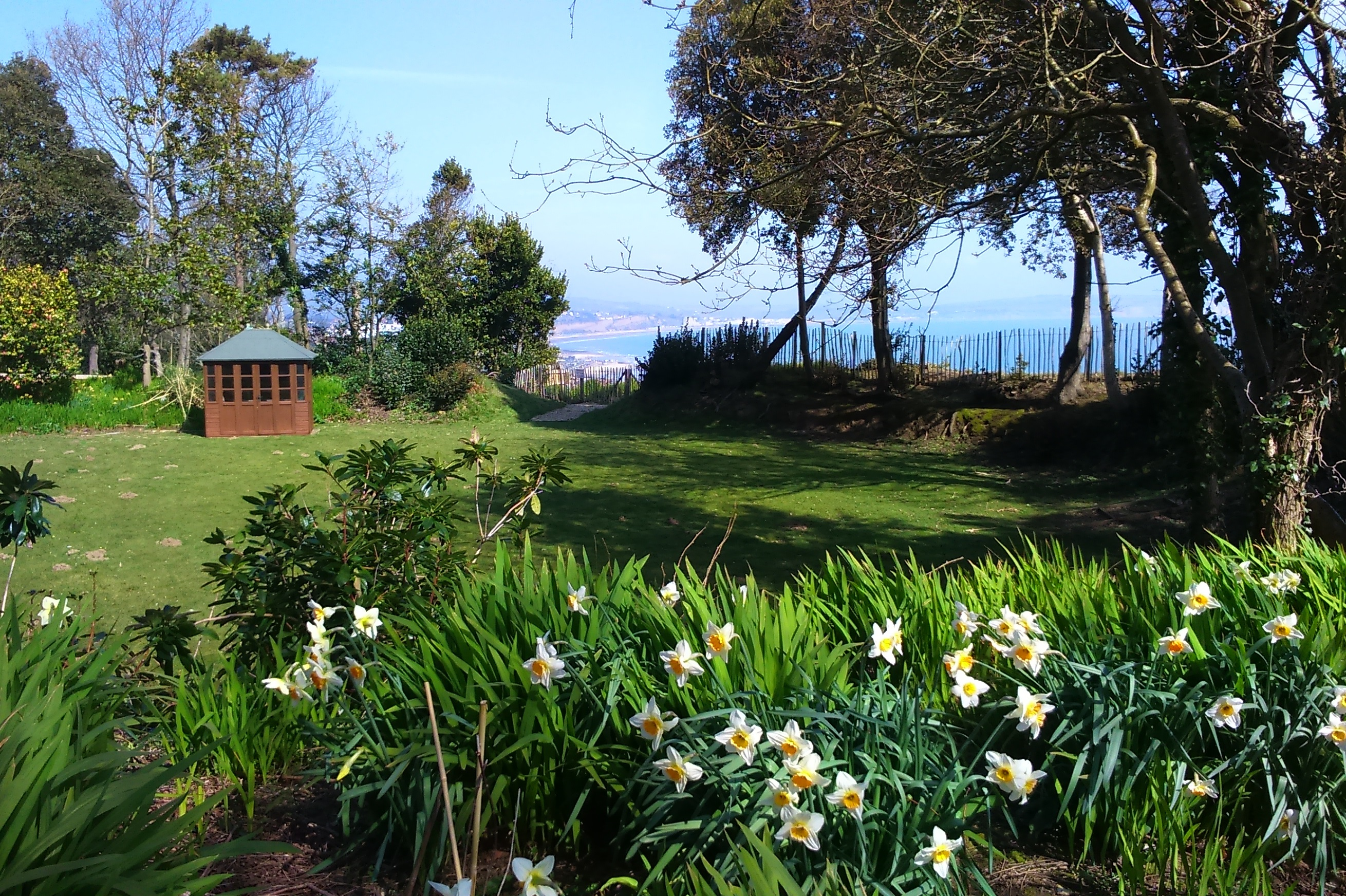 The Priory Shanklin Spring 1